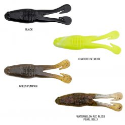 Powerbait Buzz N Speed Toad Colours